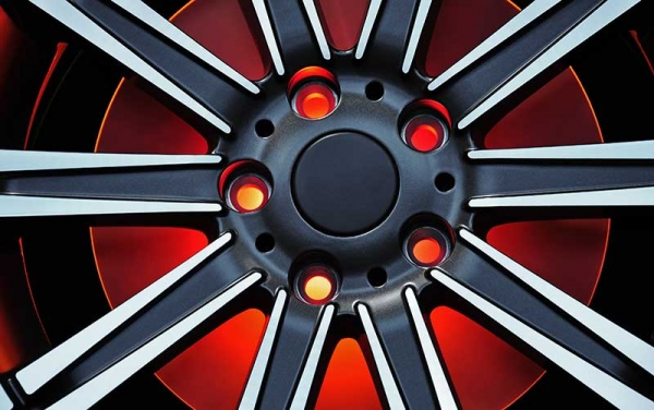 Anodized Car Rim