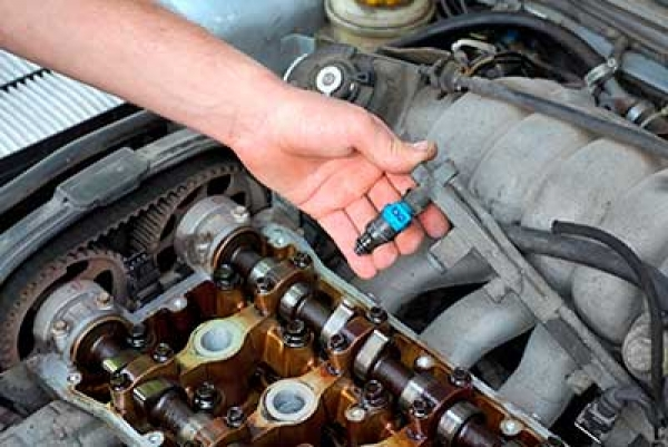 Cleaning Fuel Injectors with Ultrasonic