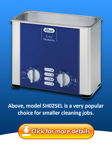 Labware ultrasonic cleaner